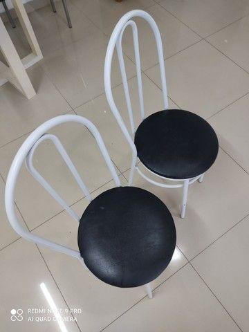 2 cadeiras tubolar  - Foto 2