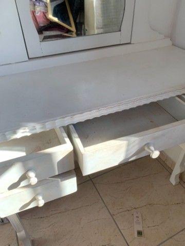 Penteadeira clássica/provençal branca - Foto 6