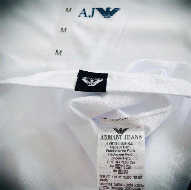 camisetas armani basicas atacado  - Foto 2