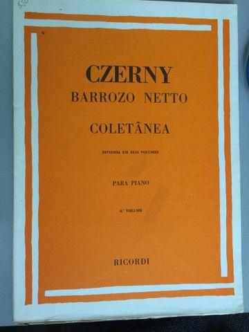 Czerny técnica para piano, 6 volumes - Foto 6