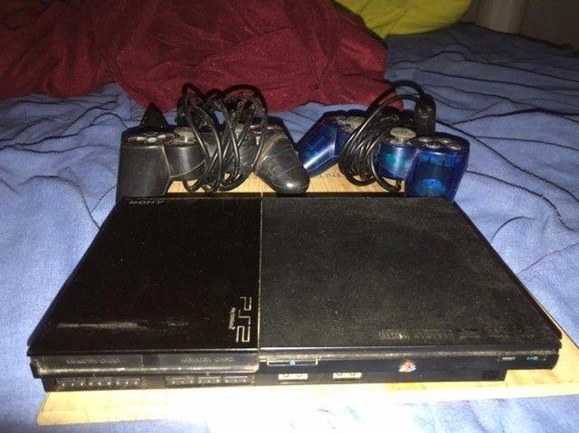 PlayStation 2 ps2 para reparo ou retirada de peças