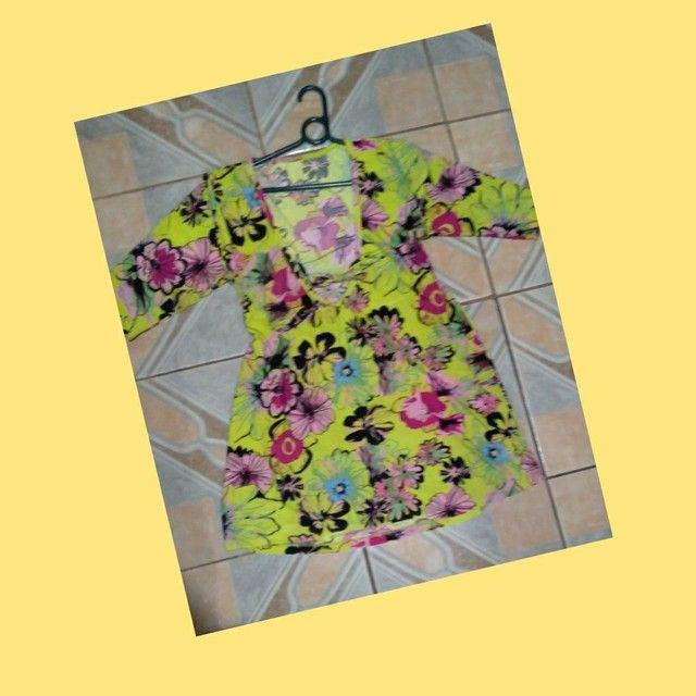 Vendo vestidos pra grávidas M e G - Foto 3