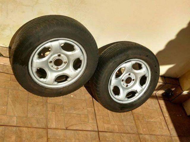 Rodas aro 15 4x108 com pneus
