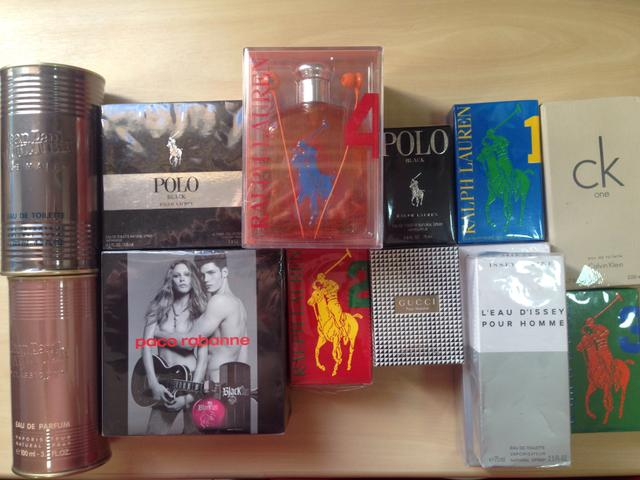 Perfumes importados originais diversos (polo, armani, issey, Gucci,