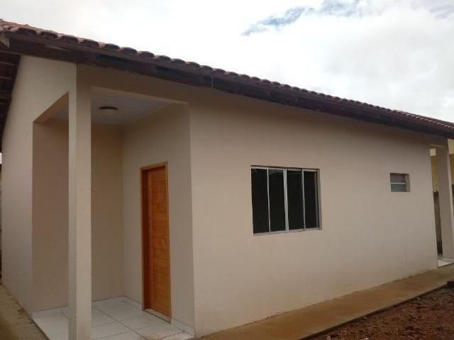 É para vender! excelente casa pronta para financiar (2 quartos s/1 suite)