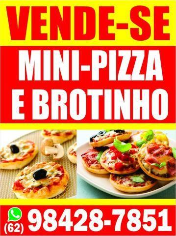 Mini pizzas e Pizzas brotinho congeladas