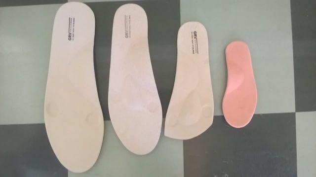 Palmilhas ortopédicas, cintos em couro legítimo