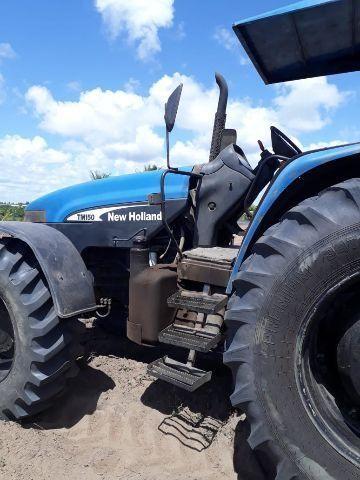 Trator new holland TM150 - Tratores e máquinas agrícolas - Goiana