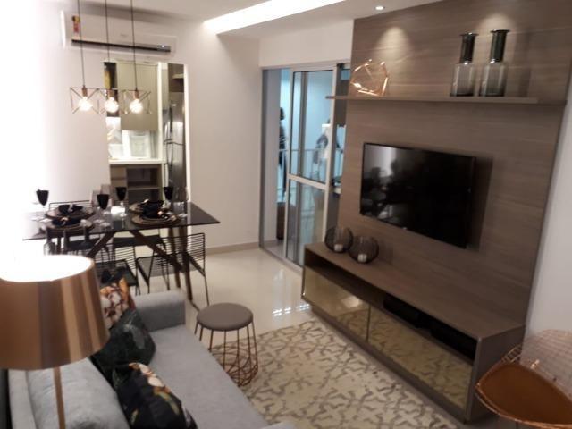 Apartamento com 2 quartas, varanda, elevador no centro de Paulista - Foto 11
