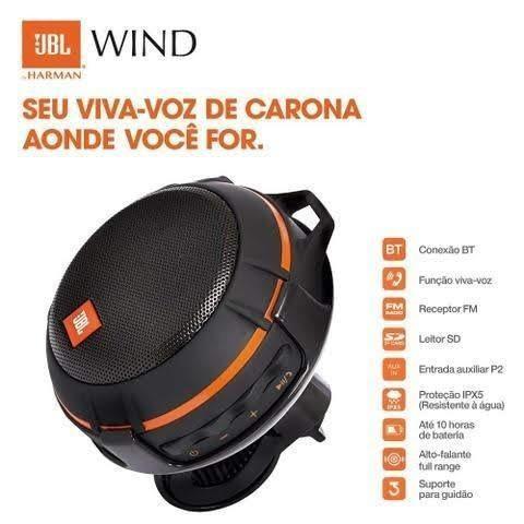 Oferta Caixa Bluetooth JBL Wind Original - Foto 4