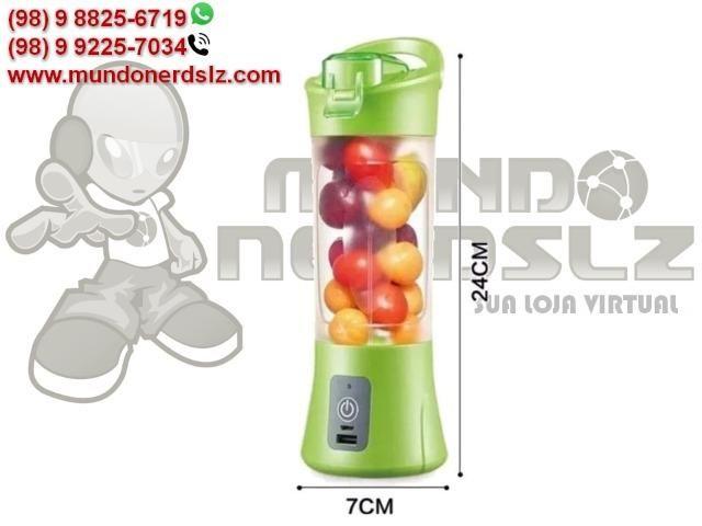 Mini Liquidificador Portátil Recarregável Juice Cup em São Luís MA - Foto 6
