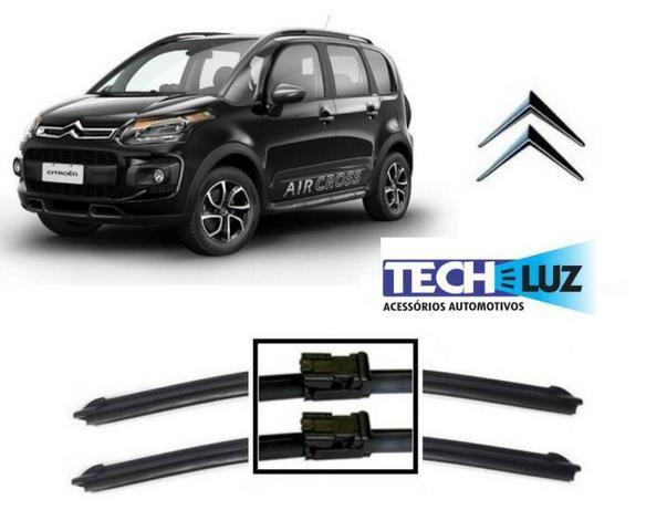 Palheta Limpador Parabrisa Especifica Citroen Peugeot Vw Hyundai Fiat Honda Toyota - Foto 2