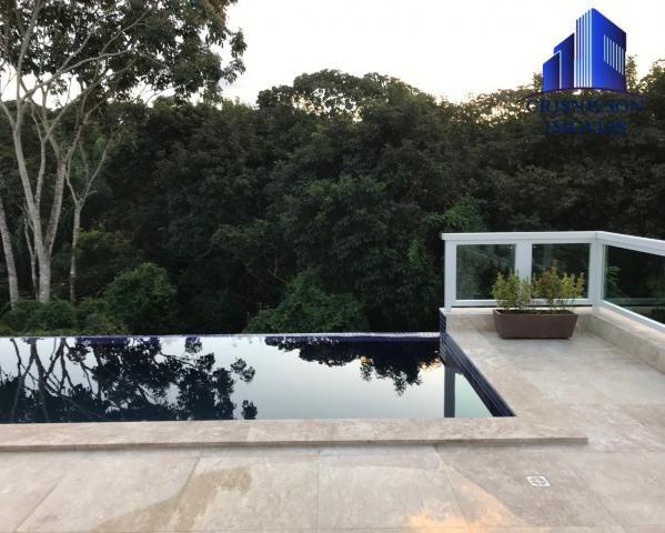 Casa à venda alphaville salvador ii, nova, r$ 2.190.000,00, piscina, espaço gourmet, área  - Foto 7
