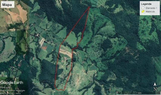 Fazenda com 22,4 alqueires paulista em Passos, MG permuta - Foto 2