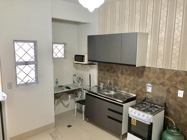 Flat Kitnet apartamento de 1 quarto mobiliado - Foto 5