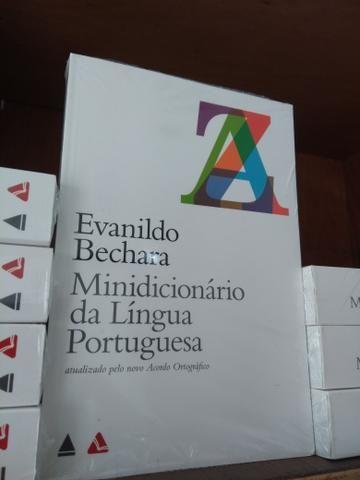 Minidicionário da língua portuguesa Evanildo Bechara