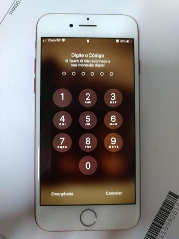 IPhone 7 Red 128 GB - Vendo ou troco - Foto 3