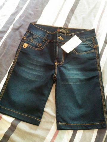 Calça jeans masculina e bermunda kids jeans
