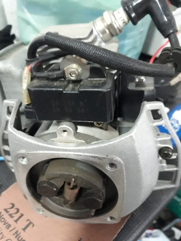 Motor 26cc roçadeira e automodelo - Foto 4