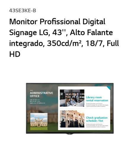"""Monitor LG retirada de peças 43"""" - Foto 2"""