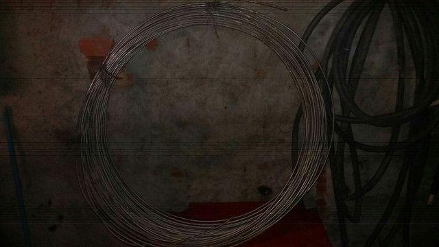 Tubo de ferro galvonizado um rolo