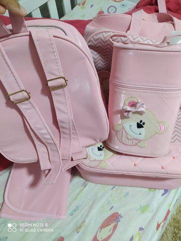 Kit de Bolsas de bebê menina - Foto 3