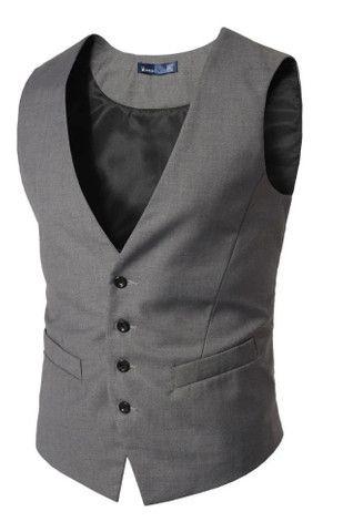 Colete Social Slim Masculino Regulável - Lançamento - Todas as cores Disponíveis - Foto 4