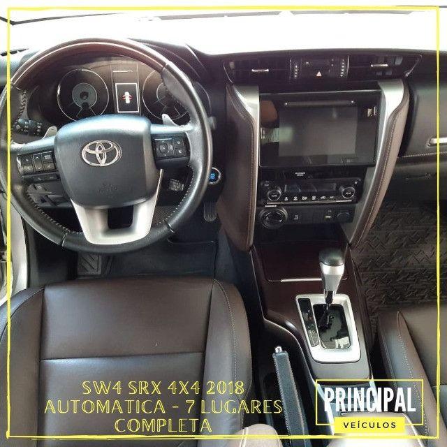 Toyota Hilux SW4 Srx 2018 Completo - Garantia de Fabrica - Foto 9