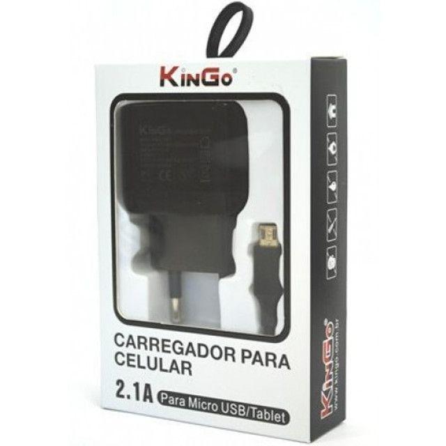 Carregador Iphone Kingo (Novo)