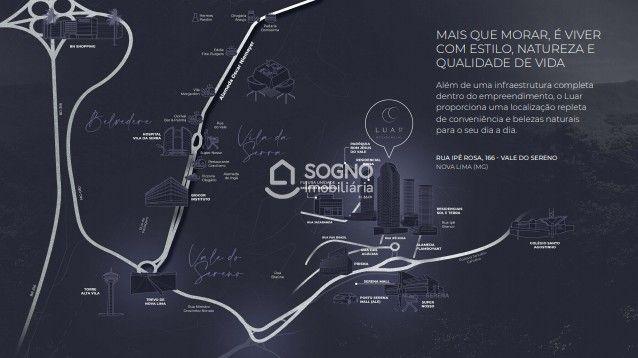 Andar à venda, 3 quartos, 1 suíte, 2 vagas, Vale do Sereno - Nova Lima/MG - Foto 3