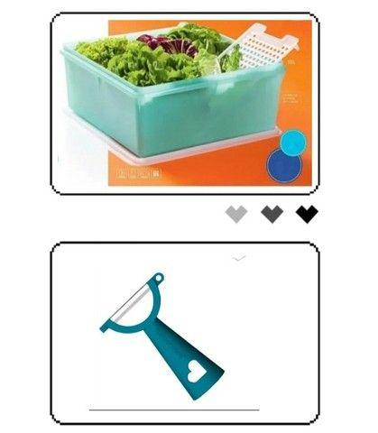 Tupperware Caixa Mint 10 litros - Foto 2