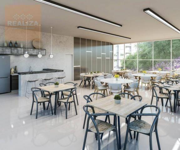 Apartamento com 2 dormitórios à venda, 49 m² no Eusébio. - Foto 6