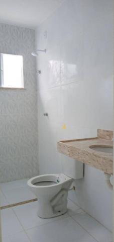 Casa com 3 dormitórios sendo 2 suítes à venda, 88 m² por R$ 219.000 - Timbu - Eusébio/CE - Foto 9