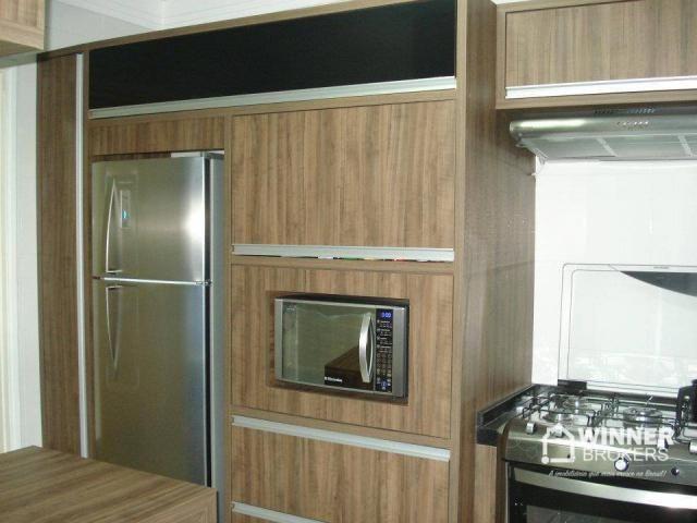 Lindo apartamento mobiliado à venda no novo centro de Cianorte! - Foto 8