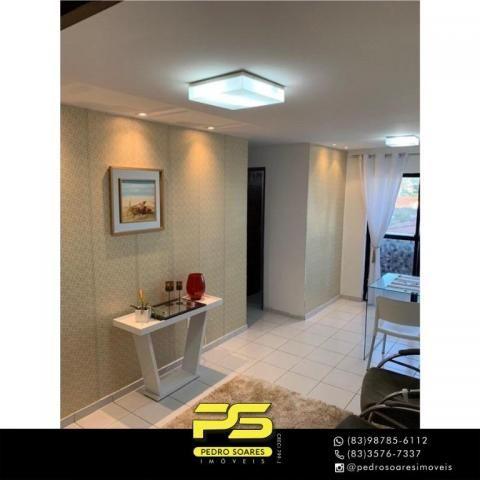 Apartamento com 2 dormitórios à venda, 60 m² por R$ 180.000 - Jardim Cidade Universitária  - Foto 2