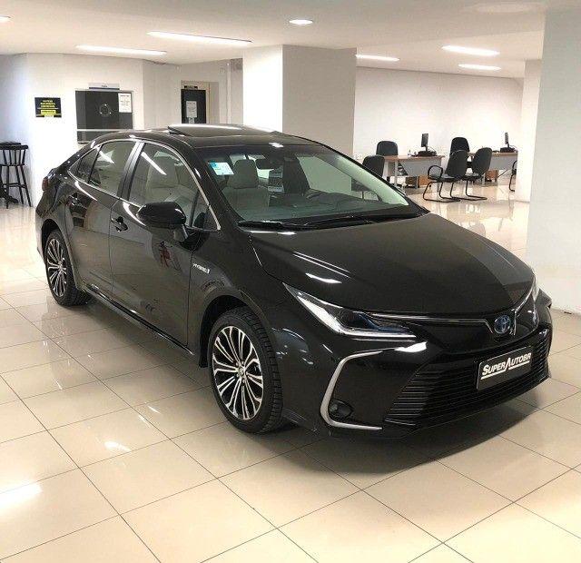Imperdível!!! Toyota Corolla Altis Premium Hybrid 1.8AT 2021 com apenas 6 mil km! - Foto 4