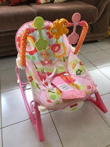 Cadeira de descanso fisher price seminova - Foto 2
