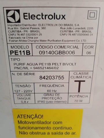 Electrolux purificador agua pe11b branco bivolt - Foto 5