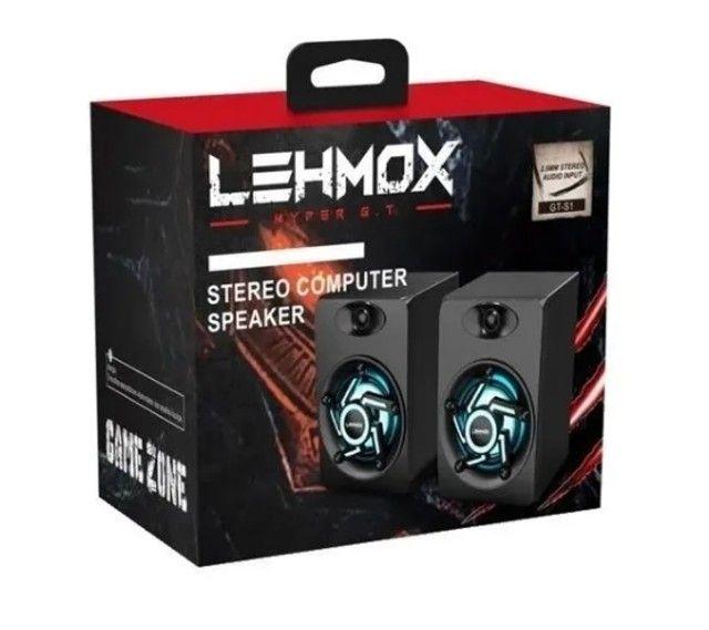 Caixa de som para PC gamer GT S-1 Lehmox - Foto 4
