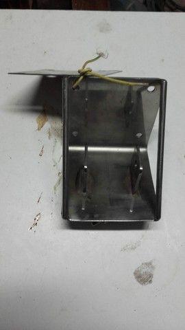 Suporte Flangeado de Aço Inox para Veleiros Novo - Foto 2