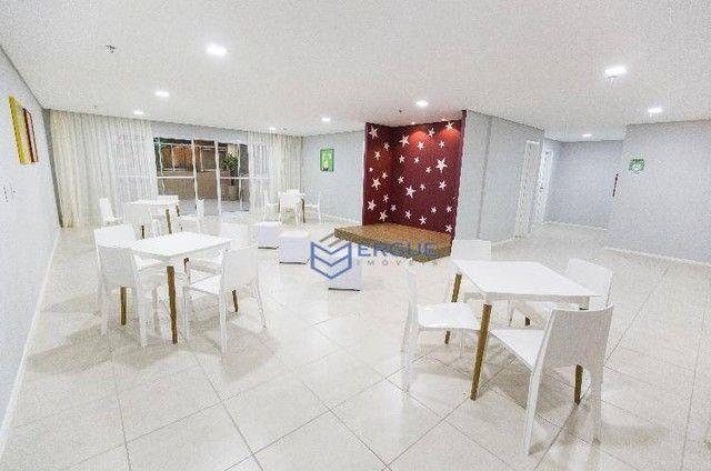 Apartamento com 2 dormitórios à venda, 57 m² por R$ 371.910,17 - Jóquei Clube - Fortaleza/ - Foto 8