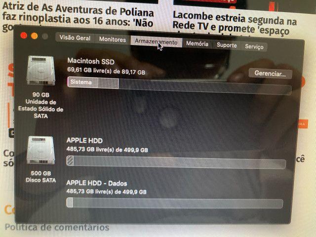 MacBook Pro 2012 16gb ram ssd 13 pol novo! - Foto 4