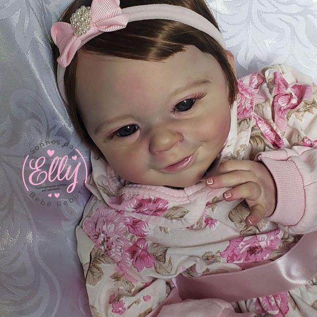 Bebê reborn kit Sunny com enxovalzinho  - Foto 2