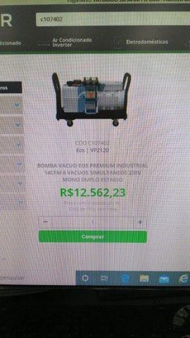 Bomba de Vacuo 14CFM  Eos - Foto 3