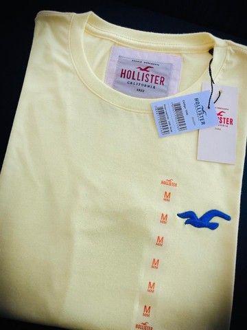 camisetas hollister basicas atacado  - Foto 5