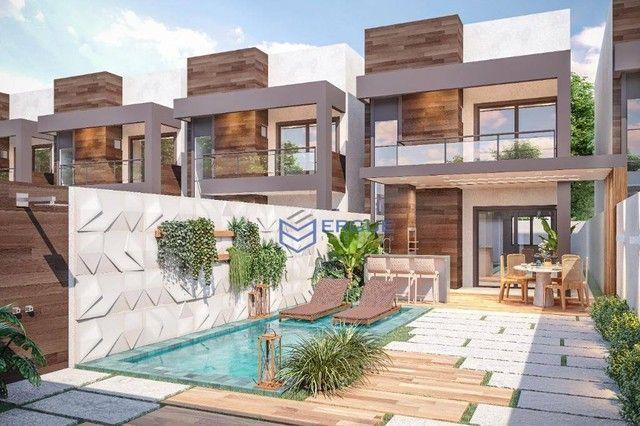 Casa à venda, 100 m² por R$ 289.900,00 - Eusébio - Eusébio/CE - Foto 3