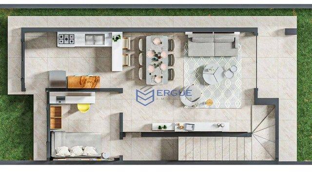 Casa à venda, 100 m² por R$ 289.900,00 - Eusébio - Eusébio/CE - Foto 7
