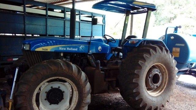 Trator NH 7630 S100