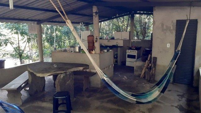 Chácara com Rio Piscina Casa e Reserva em Cristianópolis Goiás - Foto 2
