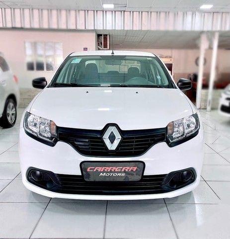Renault Logan Authentique 1.0 12V  (Flex) - 2019 - Foto 2